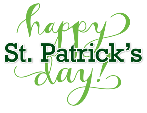 Happy St. Patricks Day!