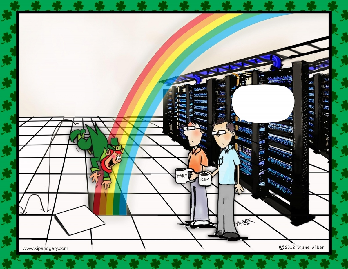 Data center pot of gold