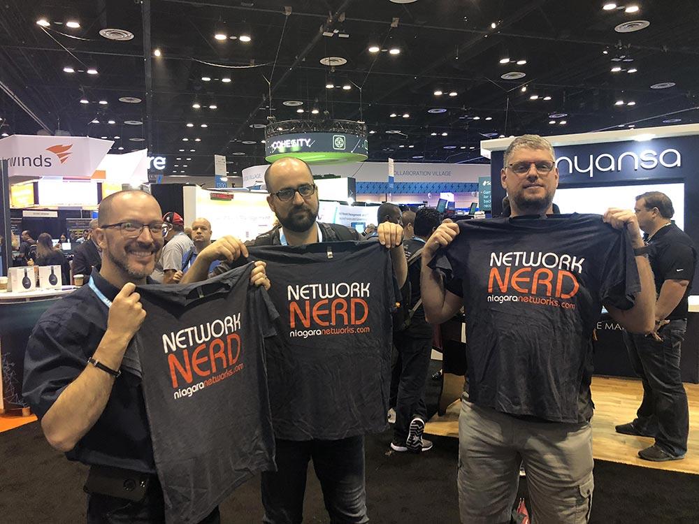 Network Nerd's @ CISCO Live Orlando 2018 | Niagara Networks
